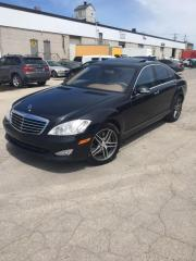Used 2009 Mercedes-Benz S-Class 4 MATIC - NAVIGATION - WOOD STEERING for sale in North York, ON