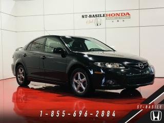 Used 2008 Mazda MAZDA6 GS Berline + JAMAIS ACCIDENTÉ + MAGS + for sale in St-Basile-le-Grand, QC
