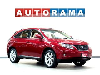 Used 2012 Lexus RX 350 TOURING PKG NAVIGATION LEATHER SUNROOF 4WD for sale in North York, ON