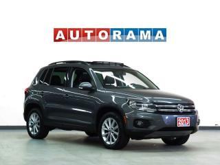 Used 2013 Volkswagen Tiguan HIGHLINE AWD NAVIGATION LEATHER SUNROOF for sale in North York, ON