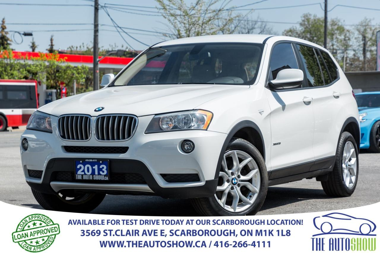 2013 BMW X3 28i NAVI Bluetooth Audio ONE-OWNER