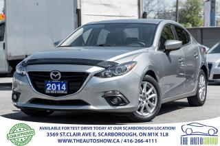 Used 2014 Mazda MAZDA3 GS-SKY NAVI RearCamera Sunroof for sale in Caledon, ON
