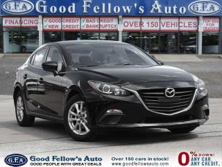 Used 2014 Mazda MAZDA3 GS MODEL, SKYACTIVE, REARVIEW CAMERA, HEATED SEATS for sale in North York, ON