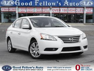 Used 2014 Nissan Sentra SL MODEL, LEATHER SEATS, SUNROOF, NAVIGATION for sale in North York, ON