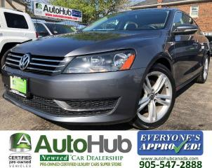 Used 2012 Volkswagen Passat COMFORT-LINE-LEATHER-HEATED SEATS-SUNROOF for sale in Hamilton, ON