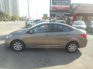 Used 2013 Hyundai Accent GL for sale in Scarborough, ON