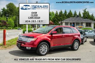Used 2007 Ford Edge SE All-Wheel Drive, Pano Roof, Heated Seats, Clean for sale in Surrey, BC