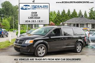 Used 2010 Dodge Grand Caravan SE Stow 'N Go, Low 128k, Local, Black, Clean! for sale in Surrey, BC