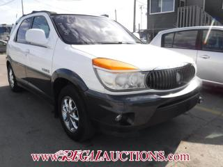 Used 2002 Buick RENDEZVOUS  4D UTILITY AWD for sale in Calgary, AB