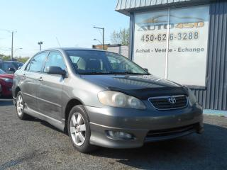 Used 2005 Toyota Corolla ***S,TOIT OUVRANT,MAGS*** for sale in Longueuil, QC