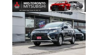 Used 2016 Mitsubishi Outlander ES Bluetooth Alloys Power Group for sale in North York, ON