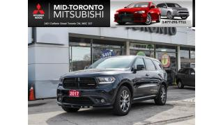 Used 2017 Dodge Durango GT Leather|Sunroof|Back Up Camera for sale in North York, ON
