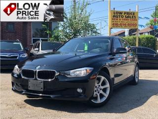 Used 2014 BMW 320i Leather*AllPower*EcoDrive*BmwWarranty* for sale in York, ON