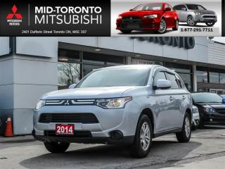 Used 2014 Mitsubishi Outlander ES Off Lease|Bluetooth|HTD Seats|Alloys for sale in York, ON