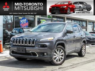Used 2017 Jeep Cherokee Limited Leather|Nav|Back Up Camera|BlindSpot for sale in York, ON