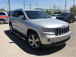 Used 2011 Jeep Grand Cherokee LIMITED**POWER SUNROOF**NAVIGATION** for sale in Mississauga, ON