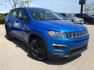 Used 2018 Jeep Compass SPORT 4X4**HEATED SEATS**BLUETOOTH**LOW KM'S!! for sale in Mississauga, ON