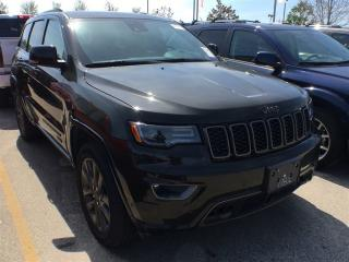 Used 2017 Jeep Grand Cherokee LIMITED 75TH ANN**ADAPTIVE CRUISE CONTROL** for sale in Mississauga, ON