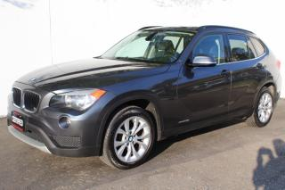 Used 2014 BMW X1 28i AWD PREMIUM PACKAGE SUNROOF BACK SENSER for sale in Mississauga, ON