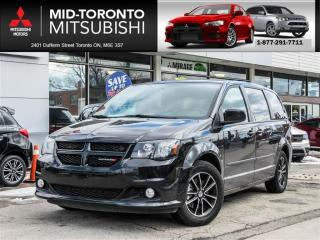 Used 2017 Dodge Grand Caravan Premium Plus Blacktop|Leather|Nav|Cam|DVD|PWR DRS for sale in York, ON