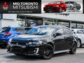 Used 2017 Mitsubishi Lancer SE LTD Black Edition|Sunroof|Back Up Camera for sale in York, ON