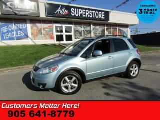 Used 2009 Suzuki SX4 Hatchback JX  AWD ALLOYS PWR-GROUP STRG-AUDIO for sale in St Catharines, ON