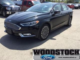 Used 2017 Ford Fusion SE Moonroof, Navigation, Tech Package for sale in Woodstock, ON