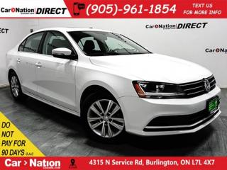 Used 2017 Volkswagen Jetta Wolfsburg Edition| SUNROOF| BACK UP CAMERA| for sale in Burlington, ON