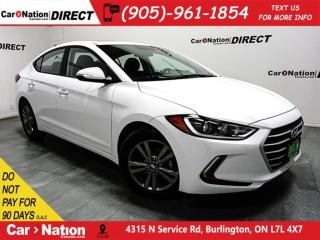 Used 2018 Hyundai Elantra SE| SUNROOF| BLIND SPOT DETECTION| for sale in Burlington, ON
