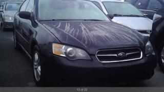 Used 2005 Subaru Legacy i 2.5litre automatic leather AWD certified for sale in York, ON