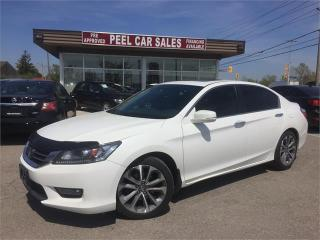 Used 2015 Honda Accord Sedan Sport for sale in Mississauga, ON