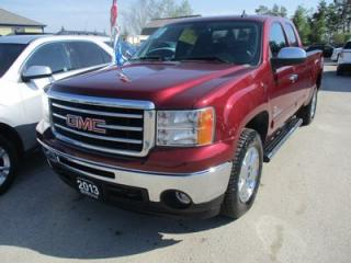 Used 2013 GMC Sierra 1500 WORK READY SLE - KODIAK EDITION 6 PASSENGER 5.3L - V8.. 4X4.. EXT-CAB.. SHORTY.. CD/AUX INPUT.. TRAILER BRAKE.. KEYLESS ENTRY.. for sale in Bradford, ON