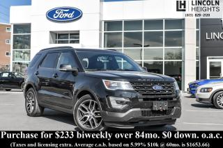 Used 2016 Ford Explorer Sport 4WD for sale in Ottawa, ON