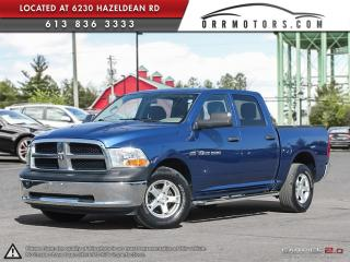 Used 2011 RAM 1500 SLT CREW CAB 4WD for sale in Stittsville, ON