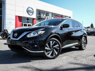 Used 2017 Nissan Murano Platinum AWD for sale in Orleans, ON