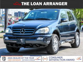 Used 2004 Mercedes-Benz ML500 for sale in Barrie, ON