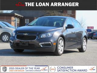Used 2015 Chevrolet Cruze LT for sale in Barrie, ON