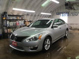 Used 2015 Nissan Altima 2.5 SL*NAVIGATION*LEATHER*BACK UP CAMERA*POWER SUNROOF*KEYLESS ENTRY w/REMOTE START*BOSE AUDIO* for sale in Cambridge, ON