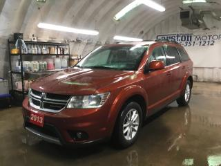 Used 2013 Dodge Journey SXT*U CONNECT PHONE*POWER DRIVER SEAT*ROOF RACK*ALLOYS*FOG LIGHTS*KEYLESS ENTRY*PUSH BUTTON IGNITION* for sale in Cambridge, ON