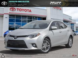 Used 2014 Toyota Corolla 4-door Sedan LE CVTi-S FULLY LOADED NAVI, LEATHER, SUNROOF AND MORE for sale in Mono, ON