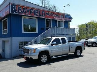 Used 2011 GMC Sierra 1500 SLT Extended Cab 4x4 **5.3L/Leather/Heated Seats** for sale in Barrie, ON