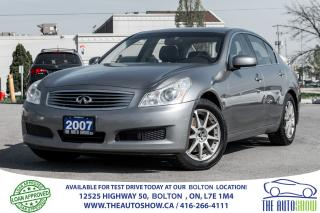 Used 2007 Infiniti G35X TECK NAVI REAR CAMERA AWD WINTER/SUMMER TIRES RIMS for sale in Caledon, ON