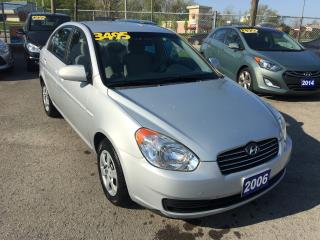 Used 2006 Hyundai Accent GL w/Comfort Pkg for sale in St Catharines, ON
