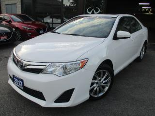 Used 2013 Toyota Camry LE-BACK UP CAMERA-SUNROOF-BLUETOOTH-ALLOYS for sale in Scarborough, ON