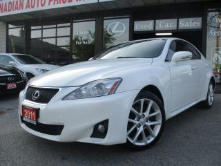 Used 2011 Lexus IS 250 AWD-LEATHER-SUNROOH-BLUETOOTH-HEATED for sale in Scarborough, ON