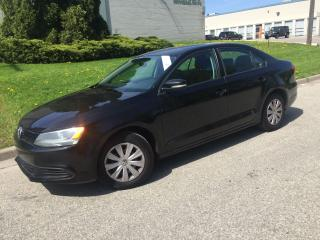 Used 2014 Volkswagen Jetta Trendline,5SP. MANUAL,AIR, for sale in Mississauga, ON