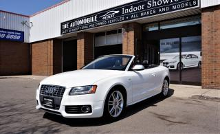 Used 2010 Audi S5 Convertible Premium AWD NAVI BACK-UP NO ACCIDENT for sale in Mississauga, ON