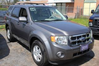 Used 2011 Ford Escape XLT LEATHER SUNROOF for sale in Brampton, ON