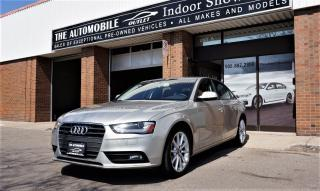 Used 2013 Audi A4 AWD QUATTRO LEATHER SUNROOF NO ACCIDENT for sale in Mississauga, ON