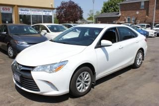 Used 2016 Toyota Camry LE Backup Cam BLuetooth for sale in Brampton, ON
